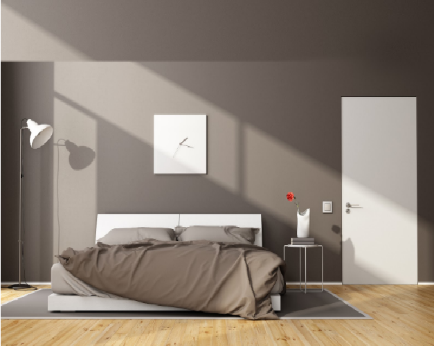 Bedroom door design from Mikasa Doors